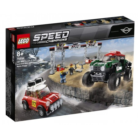 LEGO Mini Cooper S Rally и Works Buggy